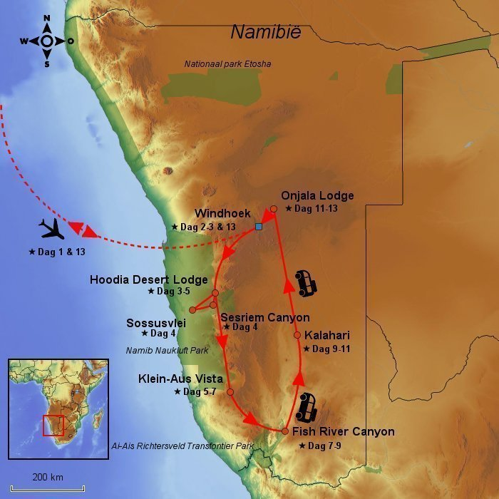stepmap-karte-afrika-safari-14-dage-sossusvlei-fish-river-canyon-nl-1658152